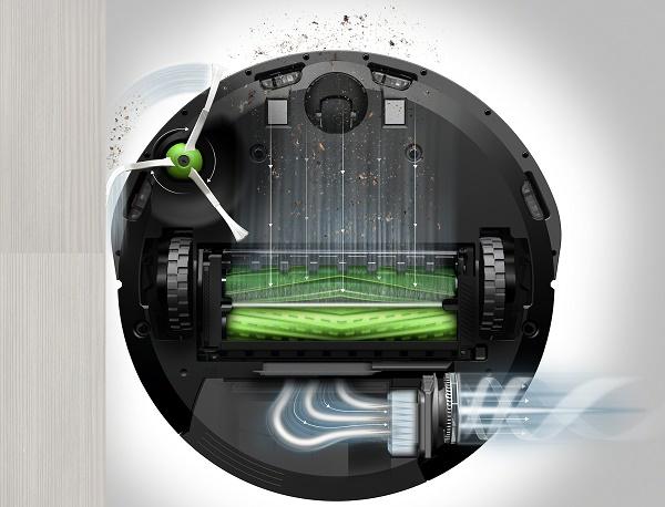 iRobot Roomba E5 AeroForce rendszer