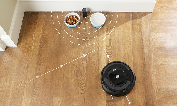 iRobot Roomba E5 virtuális fal Halo funkció