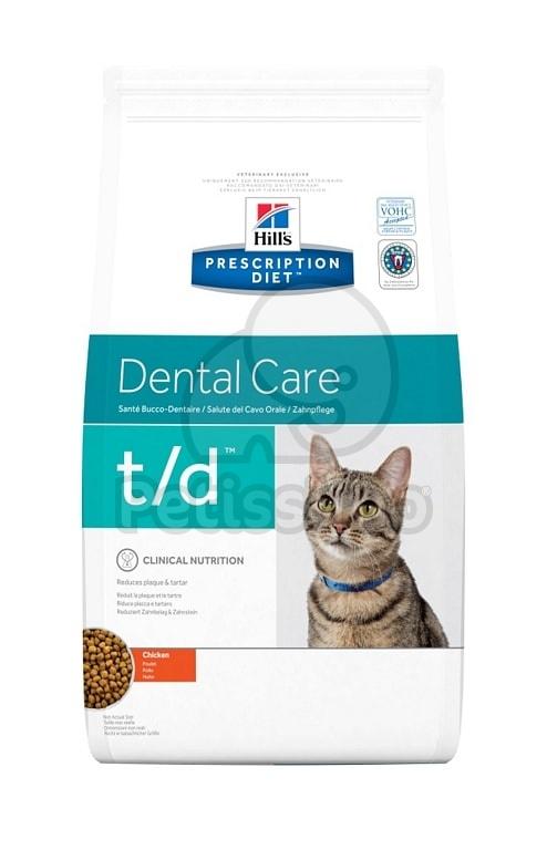 hill 39 s prescription diet t d dental care trockenfutter f r. Black Bedroom Furniture Sets. Home Design Ideas