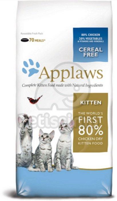 applaws kitten mit h hnchen katze trockenfutter applaws von petissimo. Black Bedroom Furniture Sets. Home Design Ideas