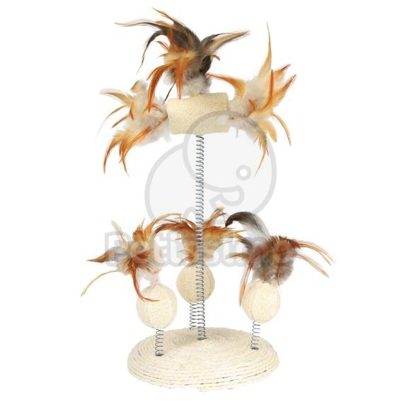 trixie spielzeug auf spiralfedern f r katzen katze spielzeuge von petissimo. Black Bedroom Furniture Sets. Home Design Ideas
