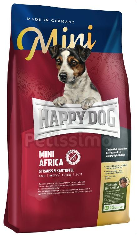 happy dog mini africa kutya sz razeledelek happy dog supreme petissimo web ruh z. Black Bedroom Furniture Sets. Home Design Ideas