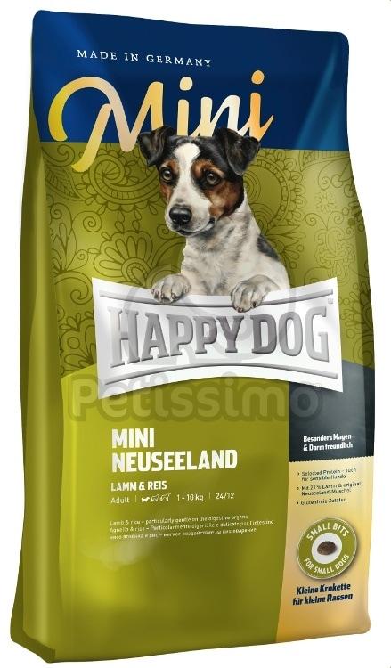 happy dog mini neuseeland kutya sz razeledelek happy dog supreme petissimo web ruh z. Black Bedroom Furniture Sets. Home Design Ideas