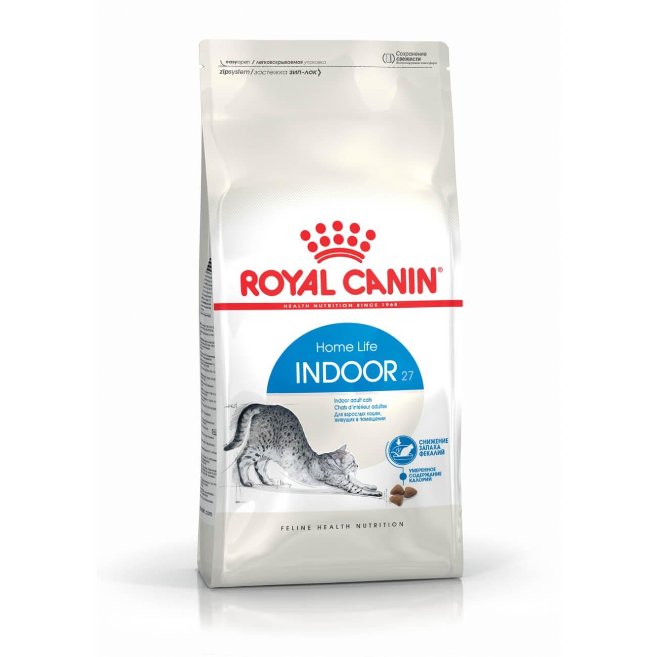 Royal Canin Indoor - lakásban tartott felnőtt macska száraz táp 10 kg (8,5 kg + 1,5 kg ajándék)