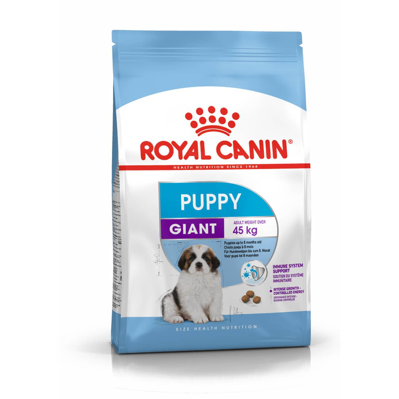 Royal Canin Giant Puppy - óriás testű kölyök kutya száraz táp 15 kg (13 kg + 2 kg ajándék)