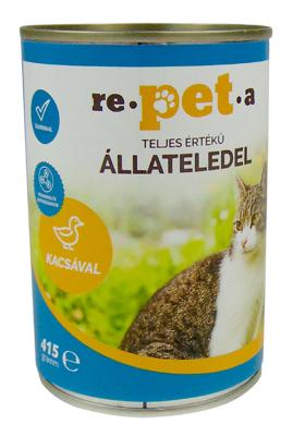 Repeta Classic kacsás konzerv macskáknak 415 g