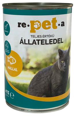 Repeta Classic halas konzerv macskáknak 415 g