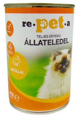 Repeta Classic nyulas konzerv macskáknak 415 g