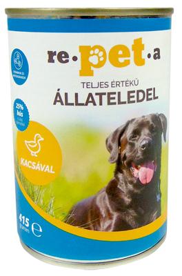 Repeta Classic kacsás konzerv kutyáknak 415 g