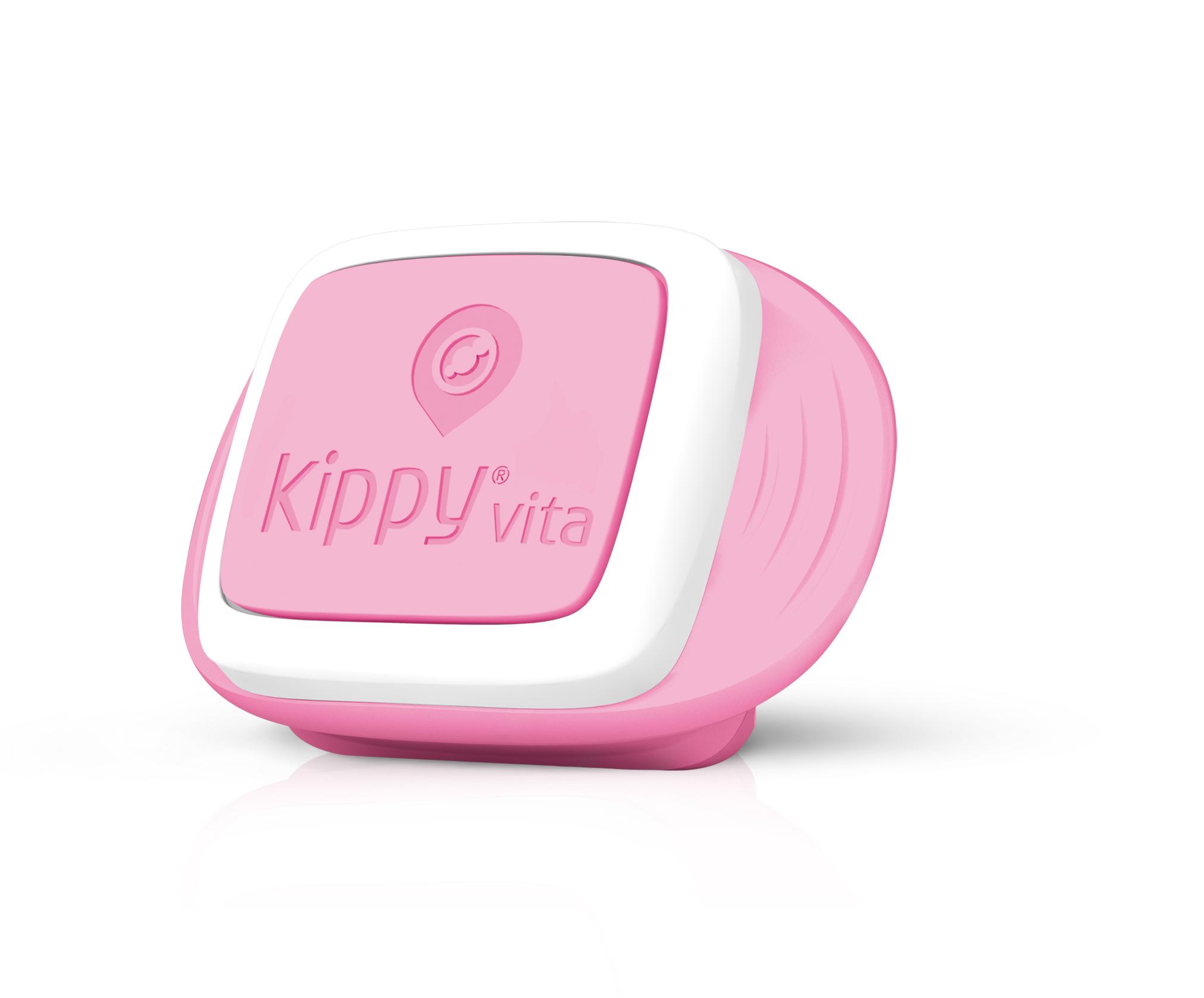 Kippy Vita GPS Nyomkövető Pink Angel