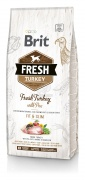 Brit Dog Fresh Turkey & Pea Fit & Slim 12 kg