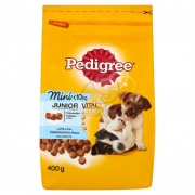 Pedigree Mini Junior granule, kuracie a ryža 0,4 kg
