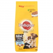 Pedigree Mini Junior granule, kuracie a ryža 2 kg