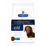 Hill's Prescription Diet z / d Mini Food Sensitivity suché krmivo pro psy