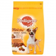 Pedigree Adult Mini granule, hydina a zelenina 0,4 kg