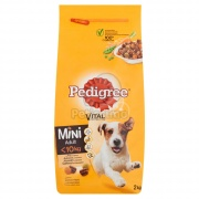Pedigree Adult Mini granule, hydina a zelenina 2 kg