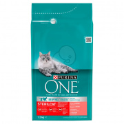 Purina ONE Adult Sterilcat Salmon 1,5 kg