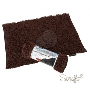 Scruffs Noodle Dry Mat - Chocolate 90 x 60 cm