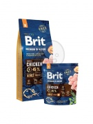 Brit Premium by Nature Adult Medium