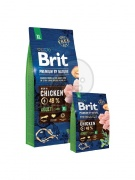 Brit Premium by Nature Adult Extra Large 15 kg