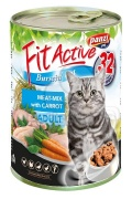 Fit Active Meat-Mix Nassfutter für Katzen