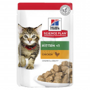 Hill's Science Plan Kitten mačja hrana - v vrečki 12 x 85 g