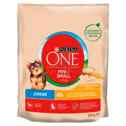 Purina ONE Mini Junior Trockenfutter für Hunde 800 g