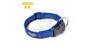 Julius-K9 Color & Gray Halsband - blau