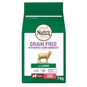 Nutro Grain Free Adult Small Lamb 7 kg