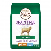 Nutro Grain Free Puppy Large Lamb 11,5 kg