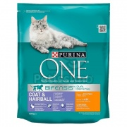 Purina ONE Coat & Hairball 800 g