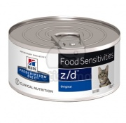 Hill's Prescription Diet z/d Food Sensitivities macskatáp - konzerv