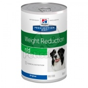 Hill's Prescription Diet r/d Weight Reduction kutyatáp - konzerv 350 g