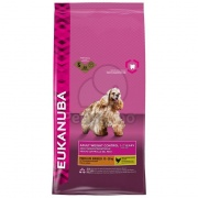 Eukanuba Adult Medium Breed Weight Control 3 kg