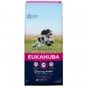Eukanuba Growing Puppy Medium Breed - piščanec 1 kg