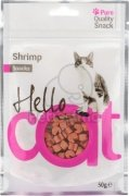 Hello Cat Shrimp Snacks