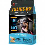 Julius-K9 Hypoallergenic Adult - Fish & Rice 12 kg