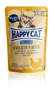 Happy Cat All Meat Adult Huhn und Ente 24 x 85 g