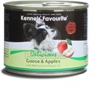 Kennels' Favourite with Goose & Apples / Husí maso a Jablka 200 g