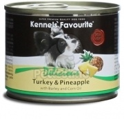 Kennels' Favourite with Turkey & Pineapple / Krůta a Ananas 200 g