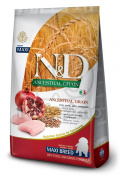 N&D Ancestral Grain Dog Puppy Maxi Chicken & Pomegranate 12 kg