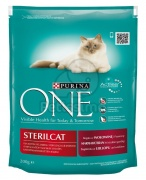 Purina ONE Bifensis Adult Sterilcat Beef 0,2 kg