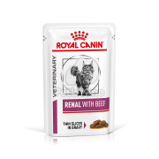 Royal Canin Feline Renal with Beef Wet – w saszetce