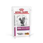Royal Canin Feline Renal with Chicken Wet – w saszetce