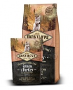 CarniLove Puppy Large Salmon & Turkey 1,5 kg