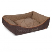 Scruffs Hundebett Thermal - braun